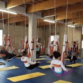 Découverte du yoga aérien