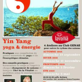 Ateliers et retraites Yin Yang Yoga & Energie
